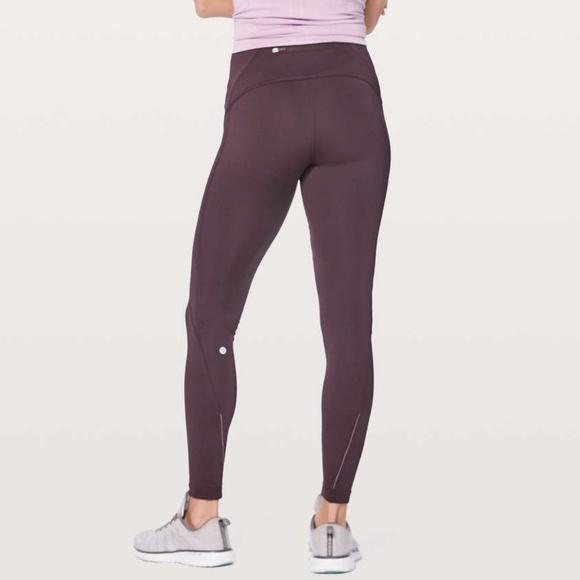 0c8602f80b05c lululemon athletica Pants | Lululemon Fast As Fleece Tight Size 4 ...